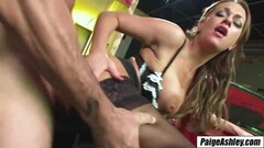 Sweet amateur Kate fed cum after anal riding interview Thumb
