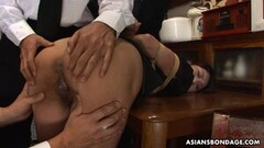Naughty Japanese housewife, Aoi Wajo is into BDSM, uncensored Thumb