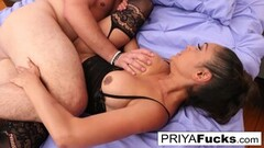 Steamy Threesome with busty Ella Knox and Violet Myers Thumb