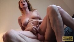 Cute Babes sucking cfnm dick at the office Thumb