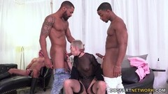 Horny Sidra Sage's First Time Interracial DP-Cuckold Sessions Thumb
