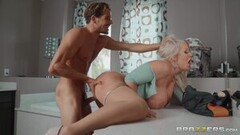 Frisky Ivy Wolfe is horny for Xander so she fucks Tyler with his mask on Thumb