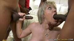 Naughty Dee Williams Waits For Her Cuckold Husband With 3 BBC Thumb