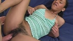 Frisky Hottie With Big Natural Tits Finger Fuck Her Pussy Thumb