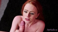Bailey Brooke licks her boss pussy Thumb