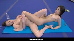 ANAL SCHMERZ Painful double anal try for german hotties Thumb