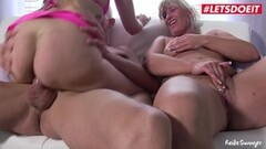Naughty Threesome Mature Sex With Two German Ladies Thumb
