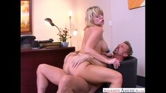 Small Tits Blonde Fucks Her Pussy With A Dildo Thumb