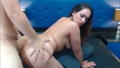 Raunchy babe fucked from behind Thumb