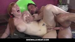 Frisky Curvy WIfe Fucking Personal Trainer Thumb
