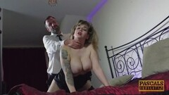 Sexy British babe dommed and fed with masters cum Thumb