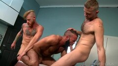 Rough Muscle Doctor Fucks His Hot Interns Thumb