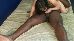 Sucking a black pole and she does a beautiful 69 Thumb