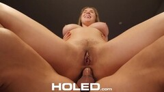 Blonde MILF fucked in front of her husband Thumb