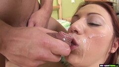 Teen gets rough pussy and ass pumping Thumb