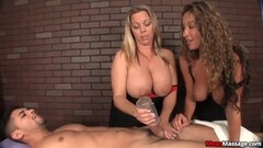 Hot horny babes help their clients relax Thumb