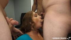 Skylar Snow First Gangbang Squirting and Creampie Thumb