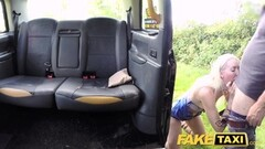 Fake Taxi Golden shower for hot lady and anal Thumb