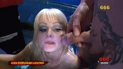 Sexy Rimming and Piss For sexy blonde Mia Bitch 666Bukkake Thumb