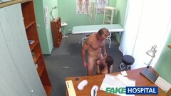 Busty asian geisha massage Chads big cock and gets analed Thumb