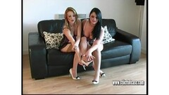 Quinn Wilde and Rina Ellis lesbian pussy licking after massag Thumb