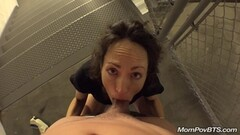 Gypsy Brunette Squirting Voyeur Thumb