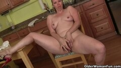 Tight lesbo pussy gapped with gyno tools Thumb