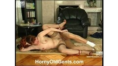 Mom and boss's comrade movie scene mature redhead Thumb