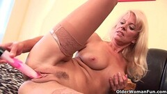 Busty babe MOM riding SON WTF Thumb