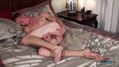Nerdy blonde is seduced by lesbian stepsister Thumb