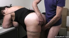 Mofos - Slutty Stewardess, Christen Courtney, Gives Sloppy Thumb