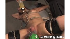 Alex taste Sinn's pussy before riding her strapon Thumb