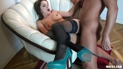 Big Titty Chubby Cheater Wife Goes Crazy For Black Cock Thumb