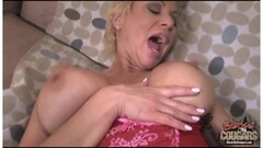 Hot momma Olivia Blu gets a tasty facial cum Thumb