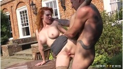 Husband Likes To Watch Hot Mature Wife Fuck Young Black Bull Thumb