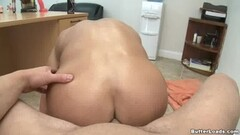 Horny boss fucking hot blonde employee in the office Thumb
