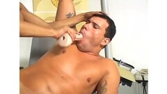 Candice Dare gives Georgia Jones pussy licking massage Thumb