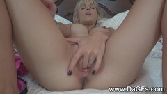 VIP4K. Huge cock of black lover replaces toy and makes Blanche moan Thumb