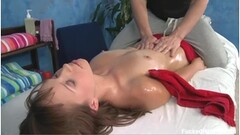 Uncensored Japanese Porn massage room sex with hot MILF Thumb