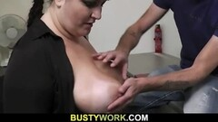 Slutty tattooed MILF gets her ass hole pounded live at sexyca Thumb