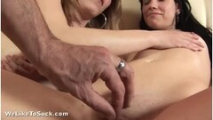 Turned On Babe Takes A Pounding On Her Pussy Thumb