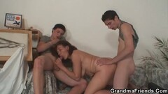 Horny Lesbian Babes Eating Pussy Thumb