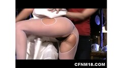 German amateur fucked in group fuck Thumb