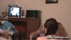 Threesome fun with voyeur wife and hot guest Thumb