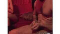 MyDirtyNovels - Milf shares a rod with her stunning GF Thumb