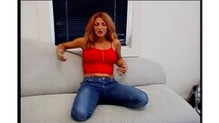 Mercy West Strips Skirt To Finger And Tease Her Bush Thumb