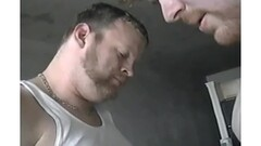 Decorated Carol Fenix Rubs One Out at the GloryHole Thumb
