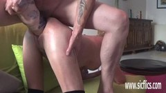 Double fisting and XXL dildo fuck with amateur wife Thumb