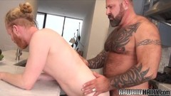 Hot bear cums during doggystyle breeding Thumb