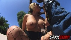 MILF Sunny Day Fucked Rectally by Black Cock Thumb